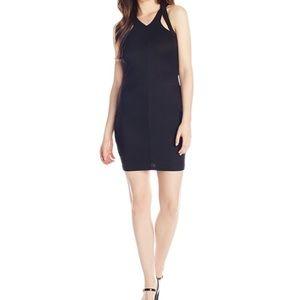 Rampage cutout dress sz L black NWT